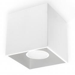 Plafon QUAD 1 Biały
