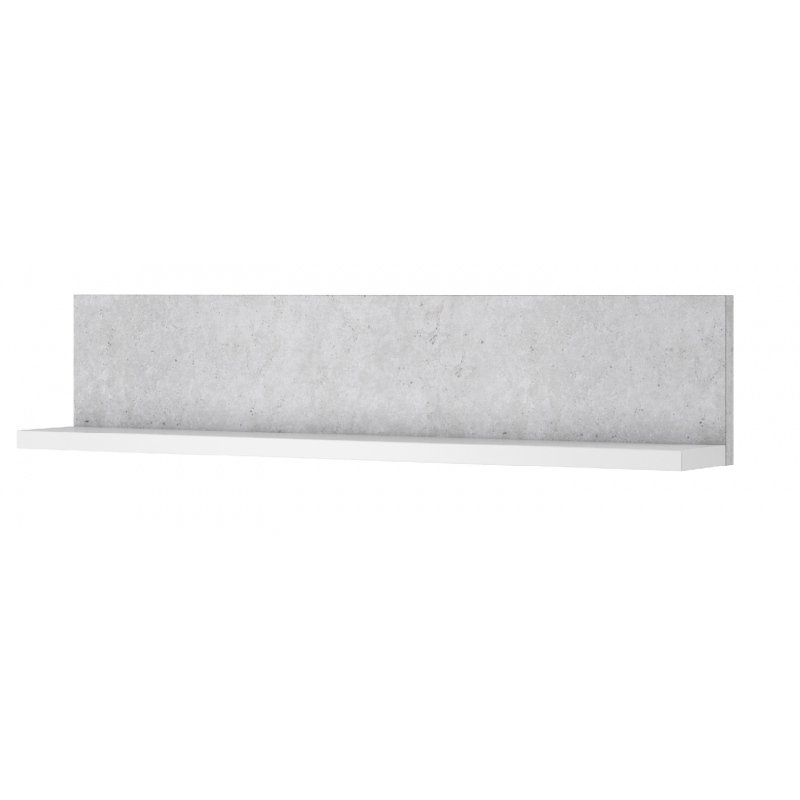Półka Bota 01 biały mat / beton colorado Helvetia Wieruszów