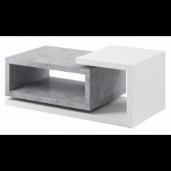 Stolik kawowy Bota 97 biały mat / beton colorado Helvetia Wieruszów
