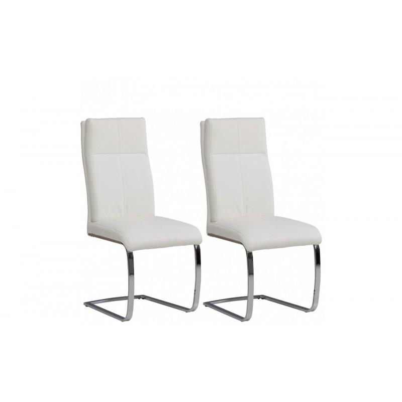 Krzesła YADGIR komplet 2 szt. biały Forte