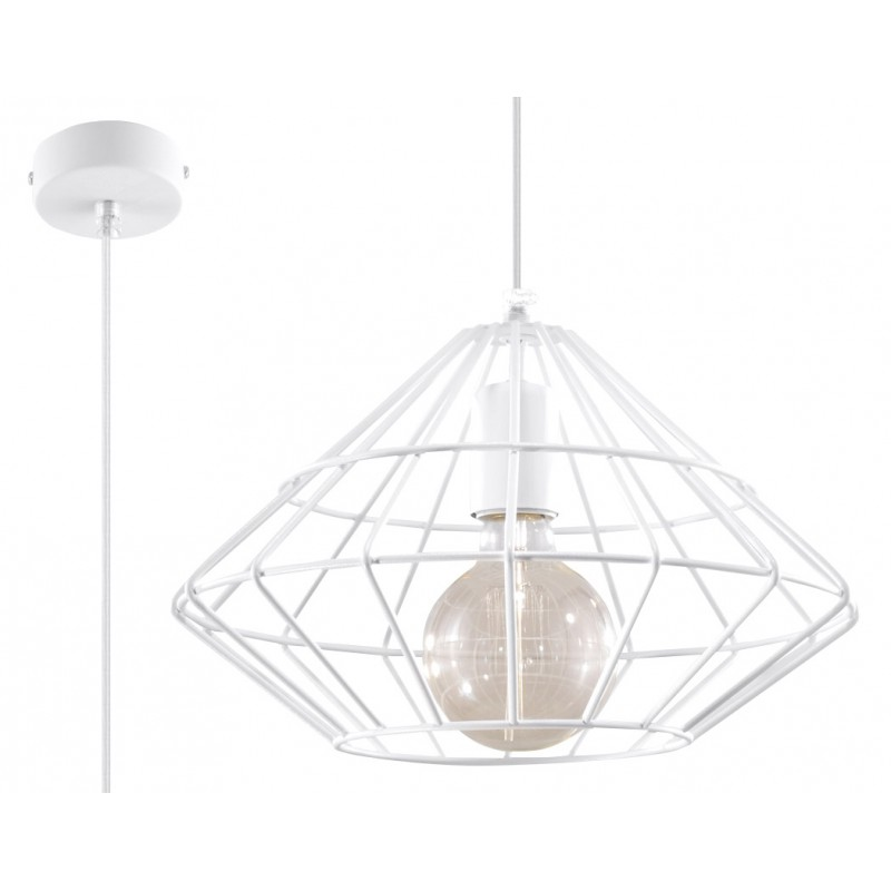 Lampa Wisząca UMBERTO Biała