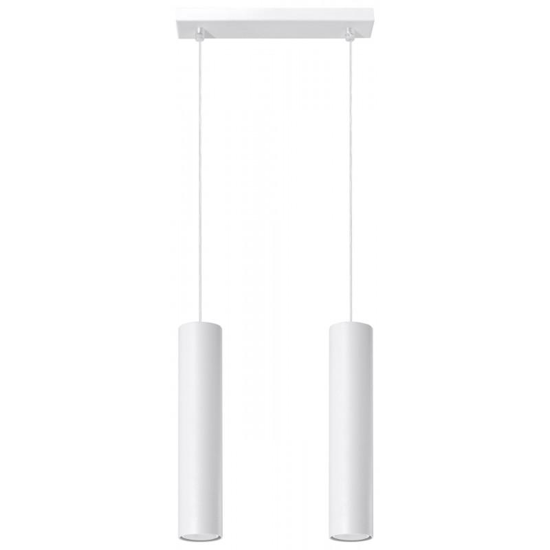 Lampa Wisząca LAGOS 2 Biały