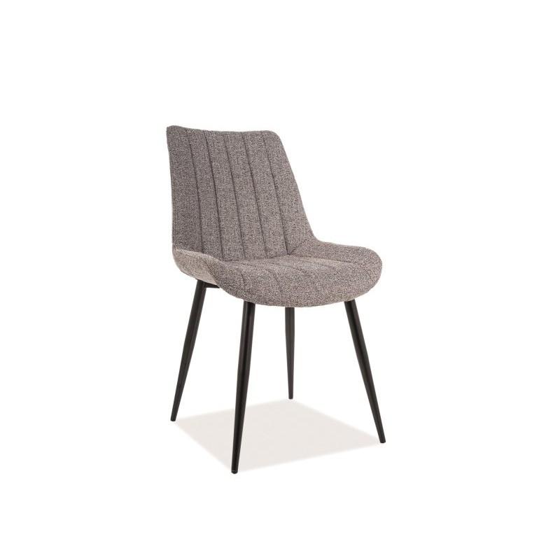 Krzesło Zoom Czarny Stelaż/Szary Tap.144 Signal