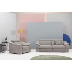 Sofa dwuosobowa Urbano z funkcją relaks elektryczną z obu stron Etap Sofa