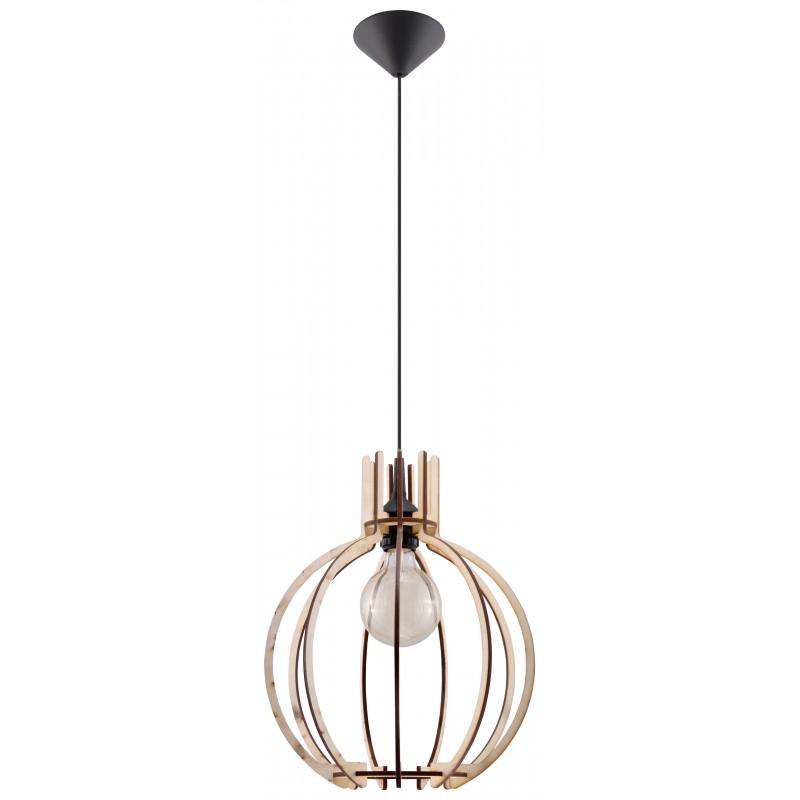 Lampa Wisząca ARANCIA Naturalne Drewno