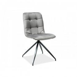 Krzesło Texo Velvet szare...