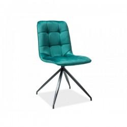 Krzesło Texo Velvet zielone...