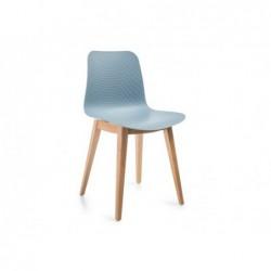 Krzesło Rossano Błękitny/Dąb