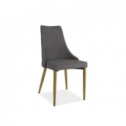 Krzesło Sand Buk Stelaż Szary Tap.06