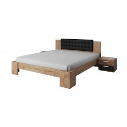 Łóżko ze stolikami nocnymi...