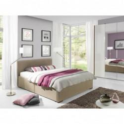 Łóżko tapicerowane Fly w...