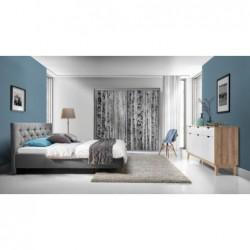Łóżko tapicerowane Glame w...