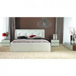 Łóżko tapicerowane Karo w...