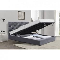 ANNABEL 160 łóżko z funkcją pojemnika popiel