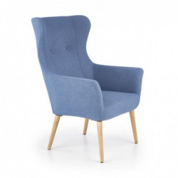 COTTO fotel wypoczynkowy niebieski