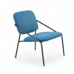 DENNIS fotel niebieski