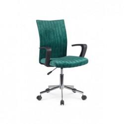 DORAL fotel młodzieżowy ciemny zielony