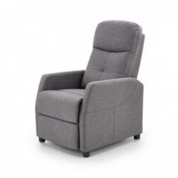 FELIPE fotel wypoczynkowy ciemny popiel