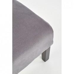 FIDO fotel wypoczynkowy ciemny popiel