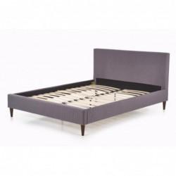 FLEXY łóżko tapicerowane popiel