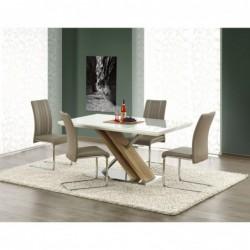 Stół NEXUS biały/dąb sonoma Halmar