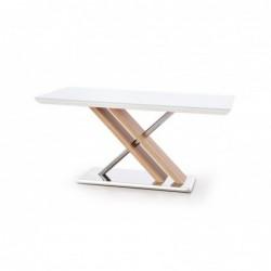 NEXUS stół ekstra biały / dąb sonoma
