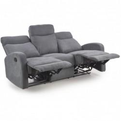 OSLO 3S zestaw wypoczynkowy, sofa 3S popiel