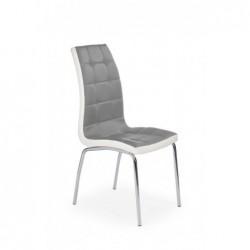 K186 krzesło popielato - biały
