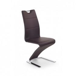 K188 krzesło brązowy
