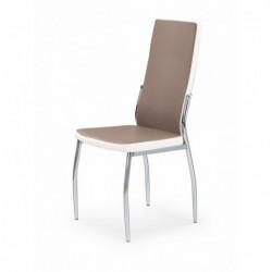 K210 krzesło cappucino / biały