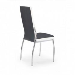 K210 krzesło czarny / biały