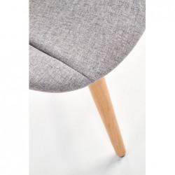 K226 krzesło jasny popiel
