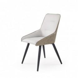 K243 krzesło jasny beton / popiel