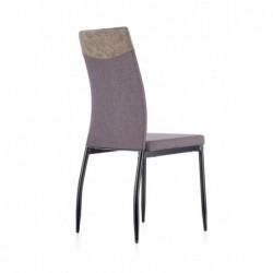 K276 krzesło ciemny popiel / popiel MIAMI