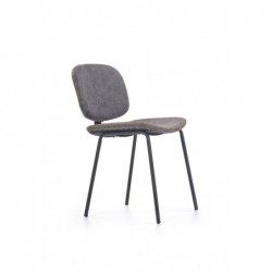 K278 krzesło popielaty / czarny