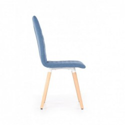 K282 krzesło niebieskie