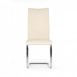 K293 krzesło kremowy