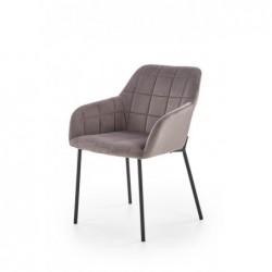 K305 krzesło czarny / popielaty