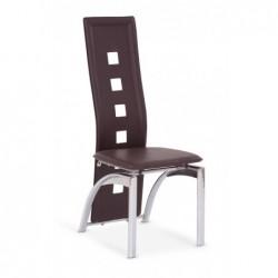 K4 krzesło ciemny brąz