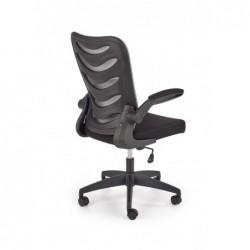 LOVREN fotel pracowniczy czarny / czarny