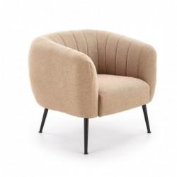 LUSSO fotel wypoczynkowy beżowy