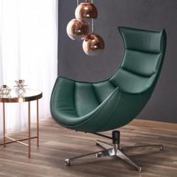 LUXOR fotel wypoczynkowy zielony