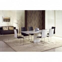 MARCELLO stół rozkładany biały , PRESTIGE LINE