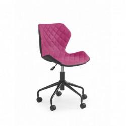 MATRIX fotel młodzieżowy czarny / różowy