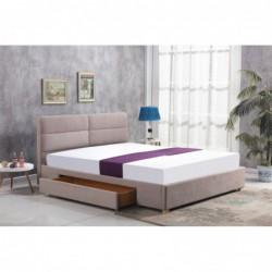 MERIDA łóżko z szufladą beżowy