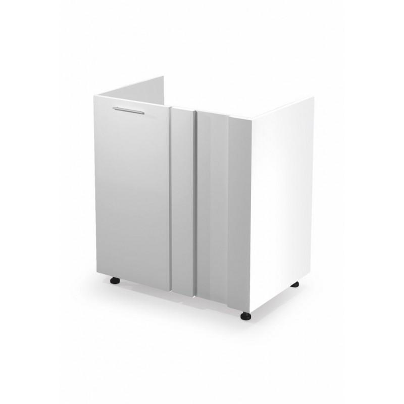 VENTO DKN-100/82 szafka zlewozmywakowa narożna front: biały