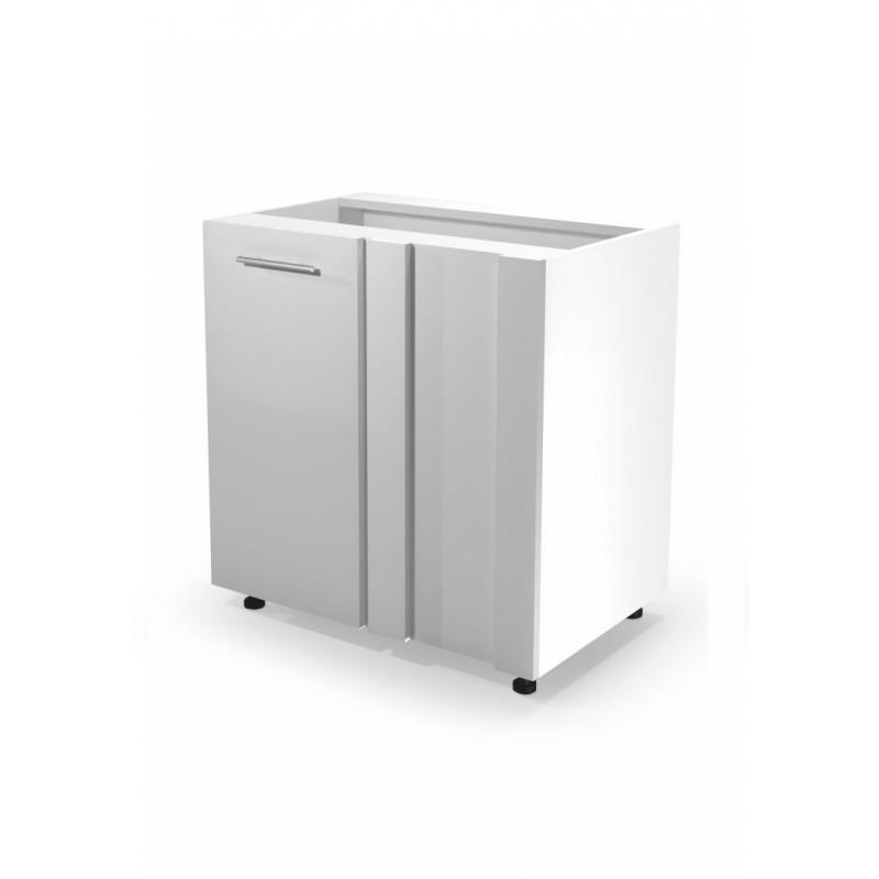 VENTO DN-100/82 szafka dolna narożna front: biały