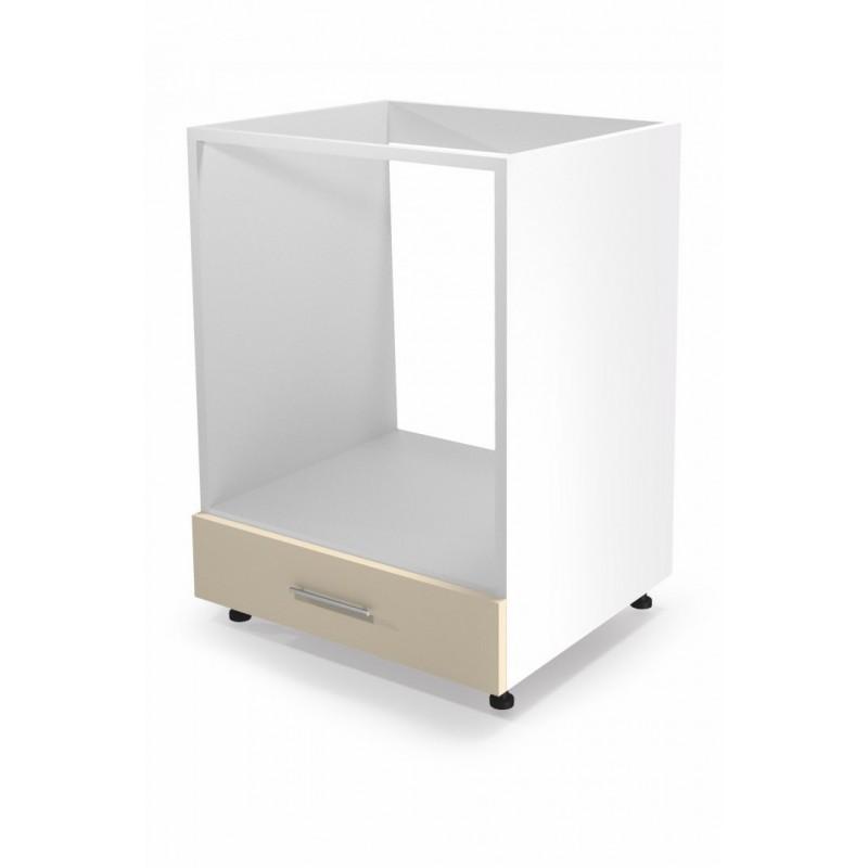 VENTO DP-60/82 szafka dolna pod zabudowę piekarnika front: beżowy  szuflada