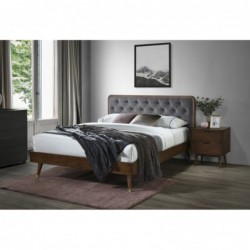 CASSIDY łóżko popielaty /...