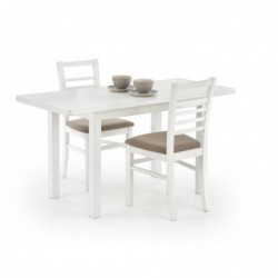 DINNER 120/158 stół biały